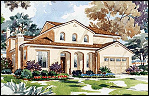 custom house concept sketch