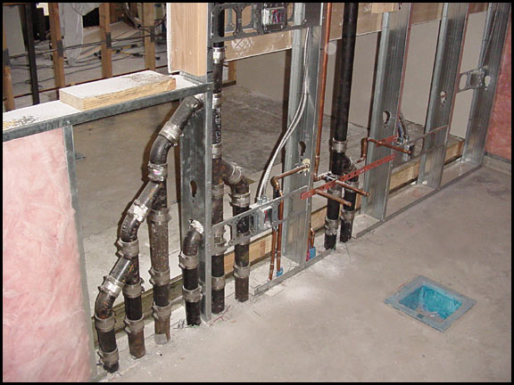 indoor piping