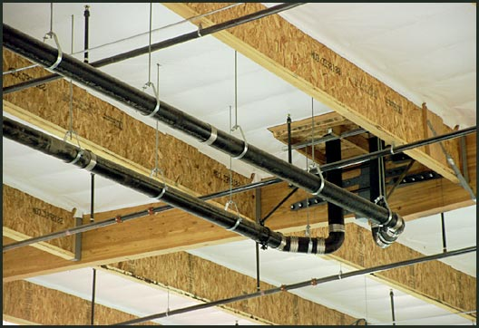 ceiling pipes