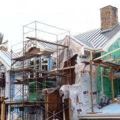 Outside home construction
