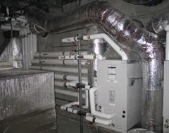 Boiler in Marin Home