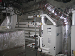 Boiler in Marin Home