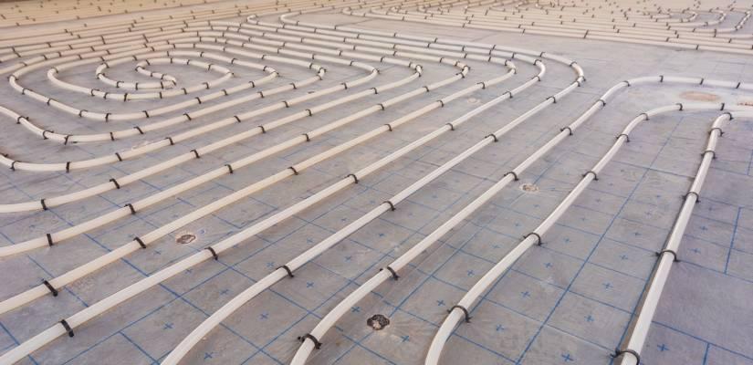 underground hydronics heating system